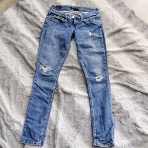Levi's Super Low Skinny Jeans